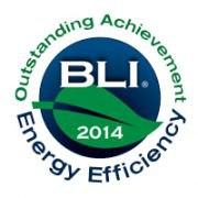 BLI 2014 Outstanding Achievement in Energy Efficiency Award